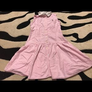Ralph Lauren Polo Girls Dress 10